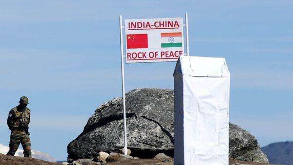 Čínsko-indická hranice - Sputnik Česká republika