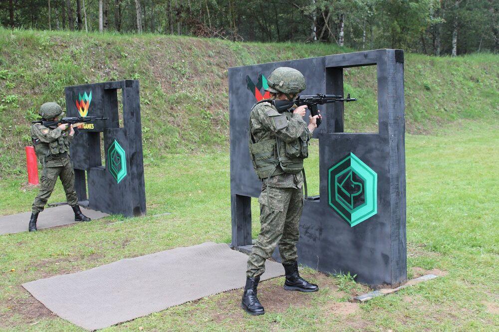 Účastnice disciplíny Přesná střelkyně