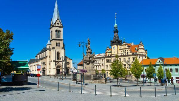 Katedrála ve městě Kladno, Česko - Sputnik Česká republika