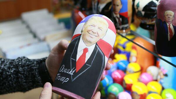 Matrjoška s podobiznou Donalda Trumpa. Skrývá se v ní Putin? - Sputnik Česká republika