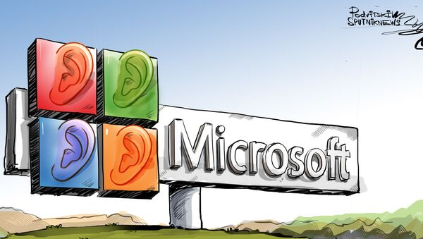 Velké ucho od Microsoftu  - Sputnik Česká republika