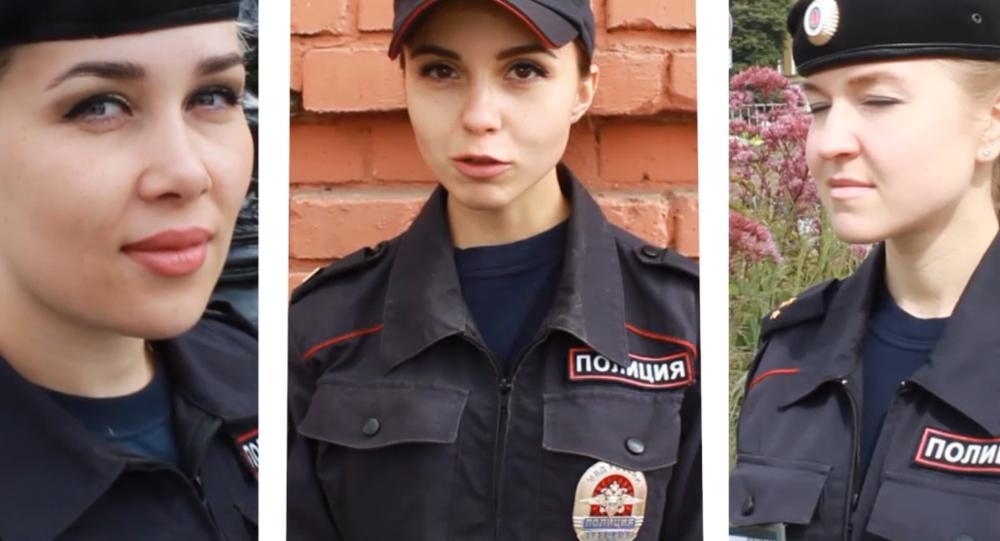 Video: Krásky ruské policie. Exkluzivní rozhovor pro Sputnik