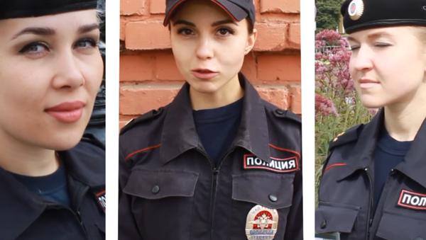 Video: Krásky ruské policie. Exkluzivní rozhovor pro Sputnik - Sputnik Česká republika