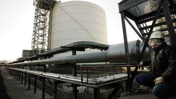 Skladování zkapalněného plynu v USA - Sputnik Česká republika