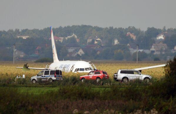 Letadlo A-321 ruské společnosti Ural Airlines s cestujícími na palubě provedlo nouzové přistání v moskevském regionu. K incidentu došlo 15 minut po odletu z letiště Žukovskij. - Sputnik Česká republika
