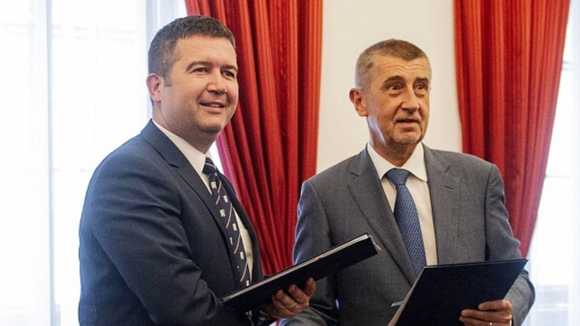 Jan Hamáček a Andrej Babiš - Sputnik Česká republika, 1920, 08.02.2021