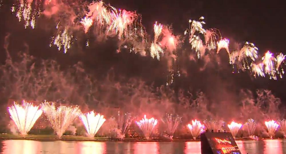 Největší mezinárodní festival ohňostrojů se konal o víkendu. Tým ze Slovenska letos nevyhrál
