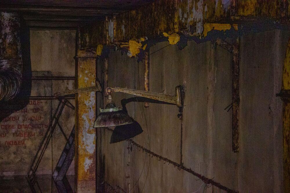 V objektu Dvina se nacházely čtyři raketové šachty. Každá šachta vedla asi asi 30 metrů do země a byla široká sedm metrů.