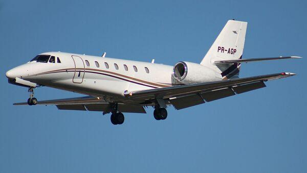 Letadlo Cessna 680 Citation Sovereign. Ilustrační foto - Sputnik Česká republika
