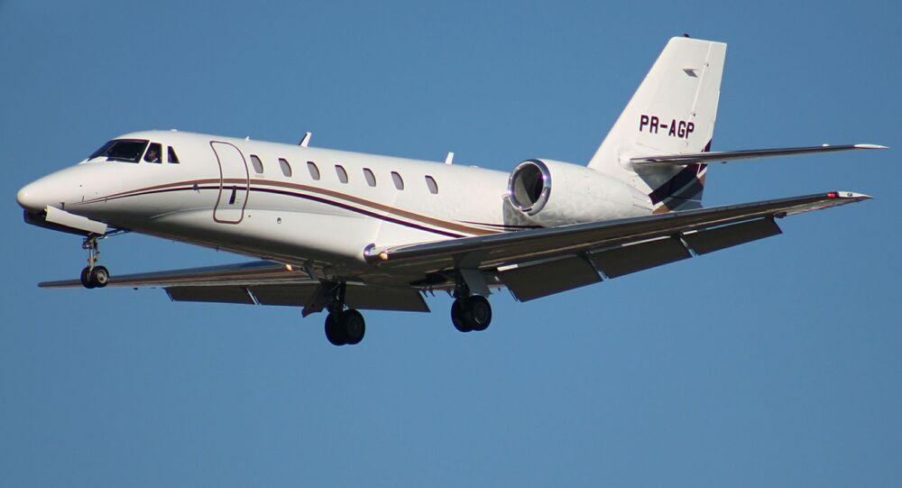 Letadlo Cessna 680 Citation Sovereign. Ilustrační foto
