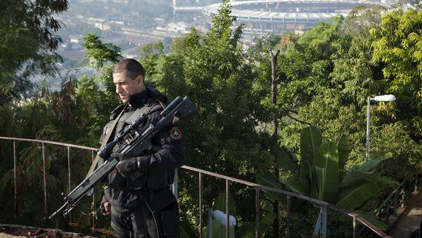 Policista BOPE v Rio de Janeiro - Sputnik Česká republika