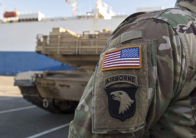 Americký voják v Německu