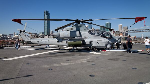Americký víceúčelový vrtulník AH-1Z Viper  - Sputnik Česká republika