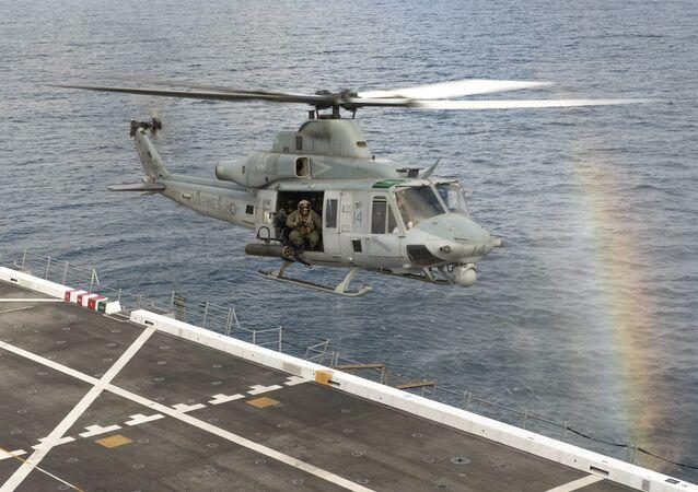 Americký víceúčelový vrtulník UH-1Y Venom