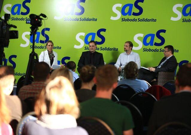 SaS navrhlo zavedení Dne památky obětí komunismu i na Slovensku