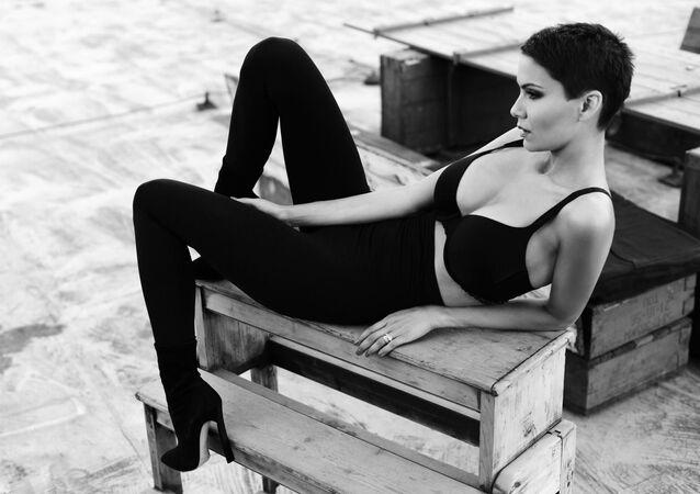 Česká modelka Vlaďka Erbová