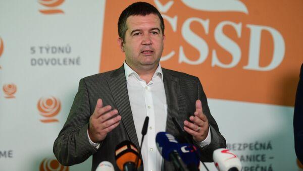 Předseda ČSSD Jan Hamáček  - Sputnik Česká republika