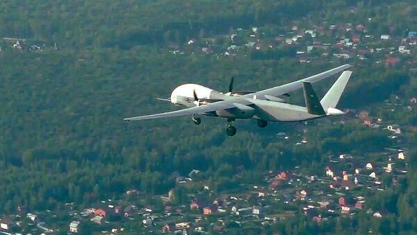 Ruský bezpilotní letoun Altius-U - Sputnik Česká republika