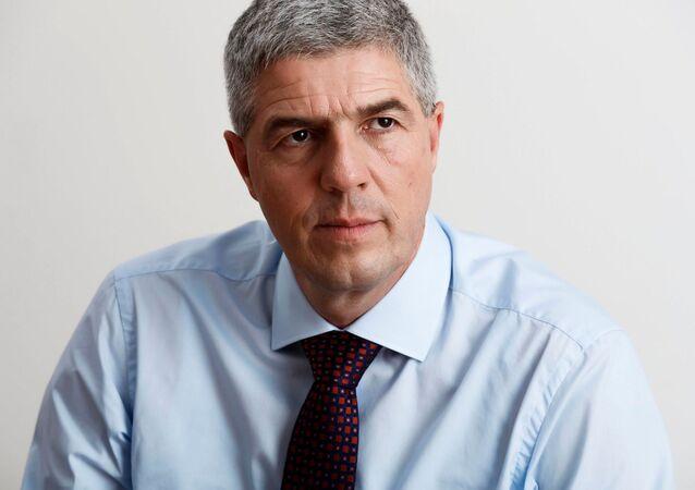 Předseda vládní strany Most-Híd Béla Bugár