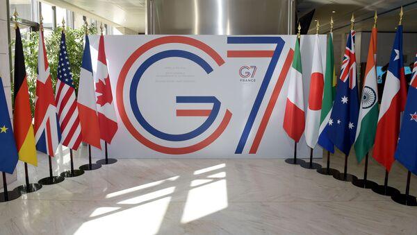 Logo G7. Archivní foto - Sputnik Česká republika