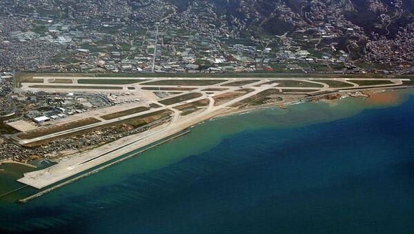 Pohled na letiště v Bejrútu - Sputnik Česká republika