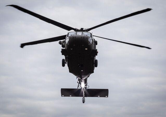 Americký vrtulník UH-60M Black Hawk. Ilustrační foto