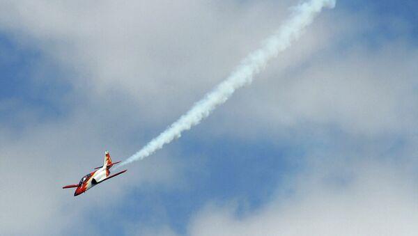 Pád  španělského letadla do Středozemního moře byl zachycen na videu - Sputnik Česká republika