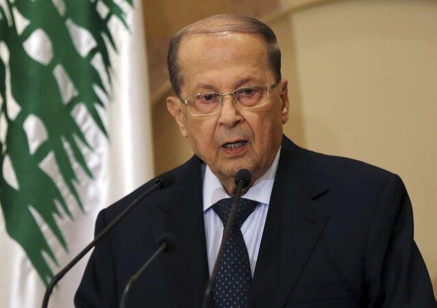 Libanonský prezident Michel Aoun