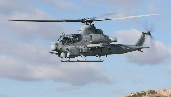 Americký vrtulník Bell AH-1Z Viper - Sputnik Česká republika