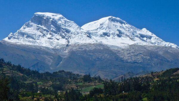 Hora Huascarán v Peru - Sputnik Česká republika