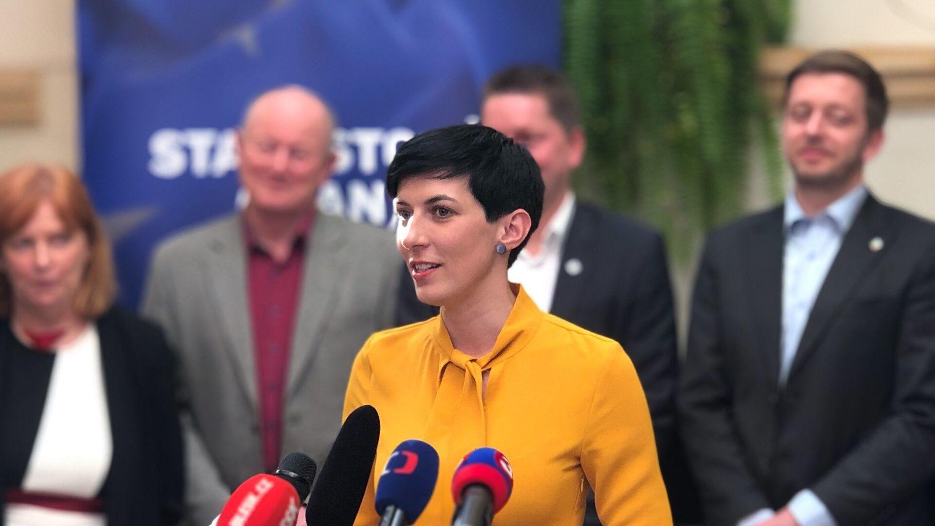 Předsedkyně politické strany TOP 09 Markéta Pekarová Adamová - Sputnik Česká republika, 1920, 15.05.2021