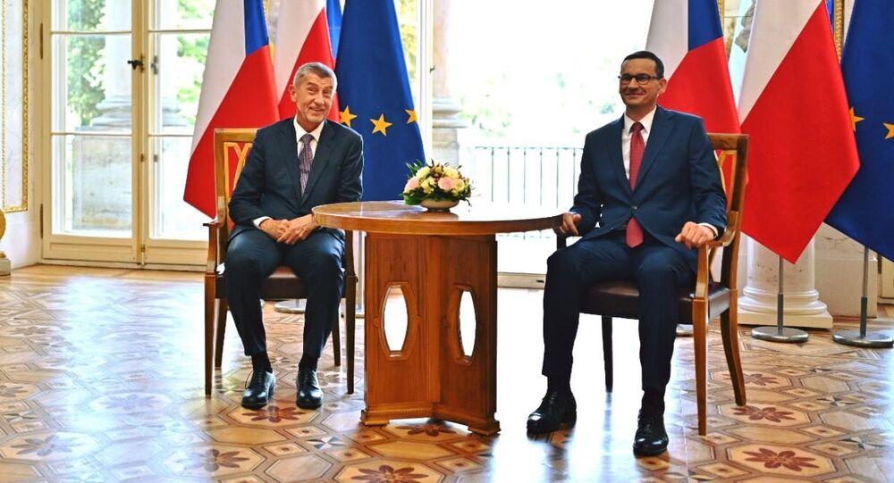 Premiérové České republiky a Polska Andrej Babiš a Mariusz Morawiecki