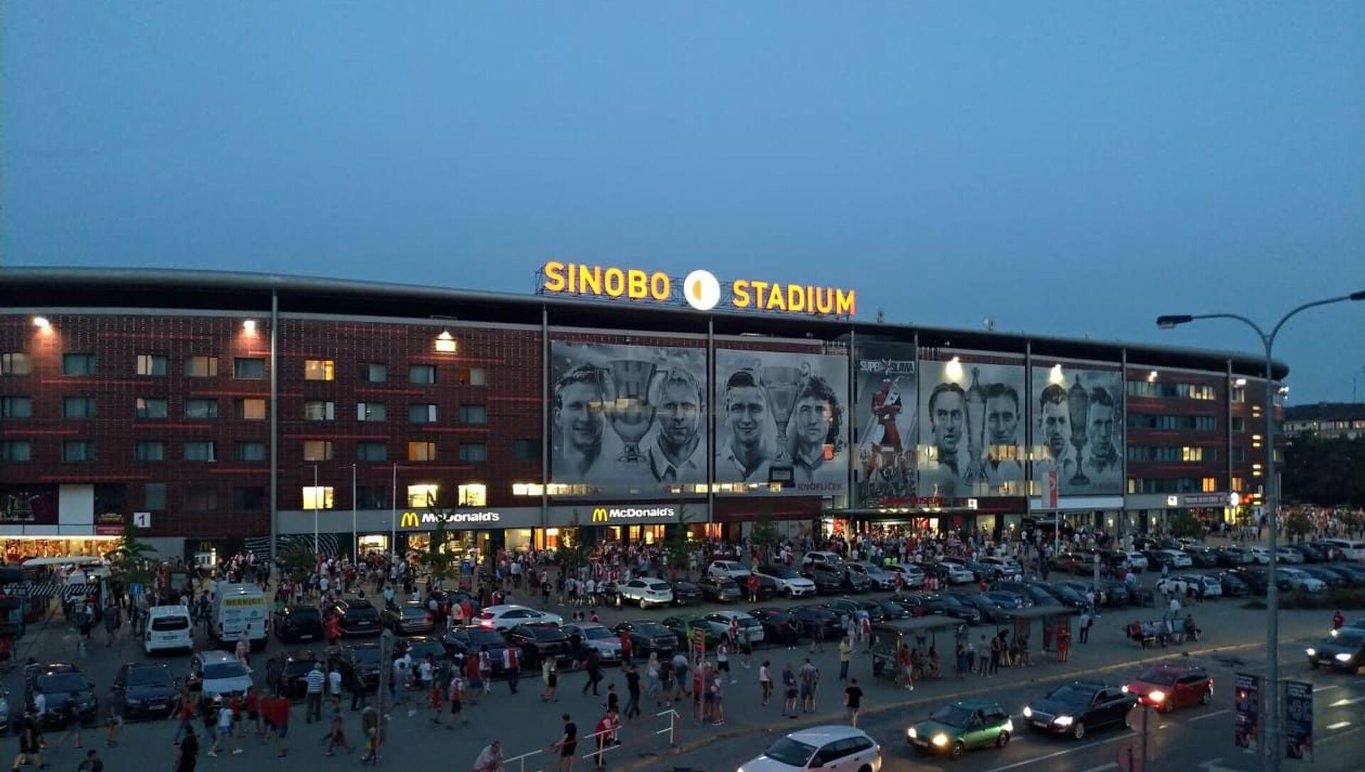 Sinobo Stadium v Praze - Sputnik Česká republika, 1920, 19.03.2021