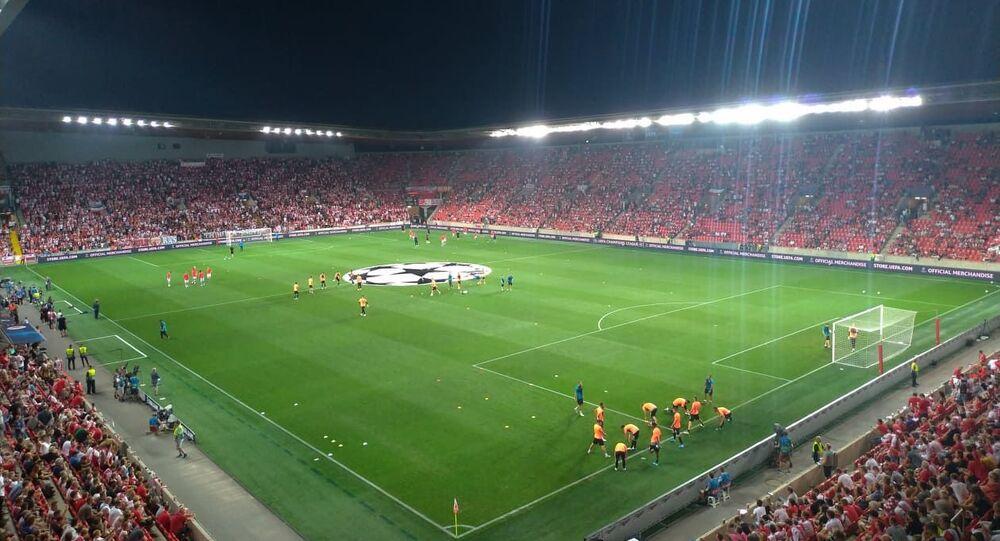 Stadion Eden v Praze. Ilustrační foto