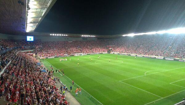 Slávisté se ujímají vedení 1:0 a jsou krok od Ligy mistrů - Sputnik Česká republika