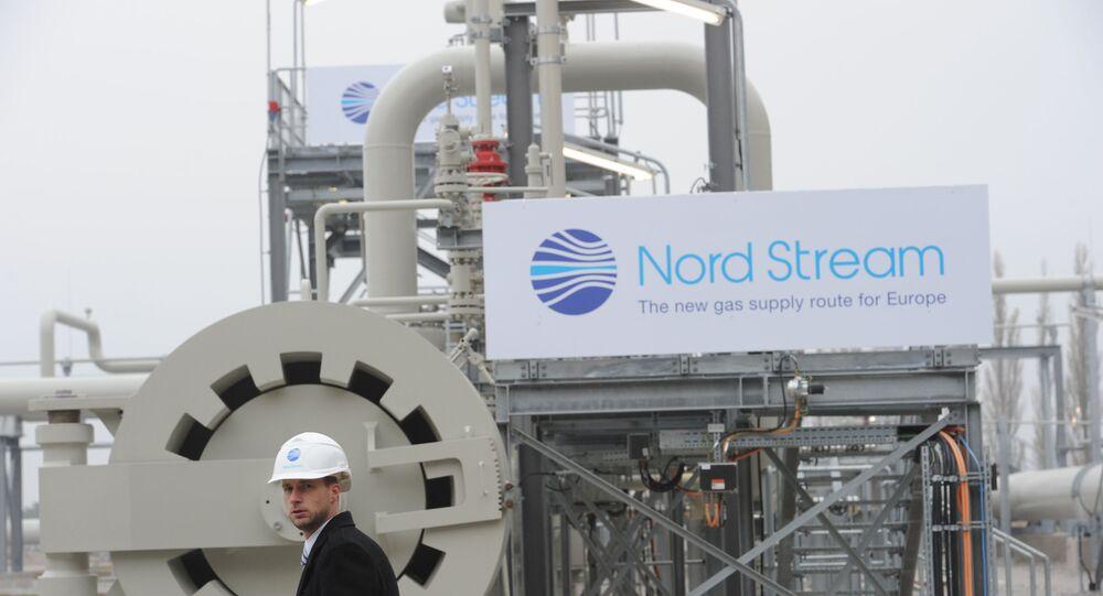 Plynovod Severní proud. Ilustrační foto