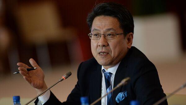 Starší správce Japonské banky pro mezinárodní spolupráci Tadaši Maeda - Sputnik Česká republika