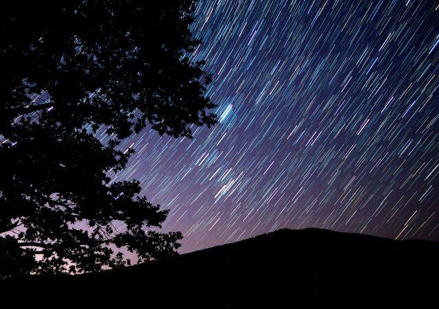 Hvězdné nebe v Krasnodarském kraji