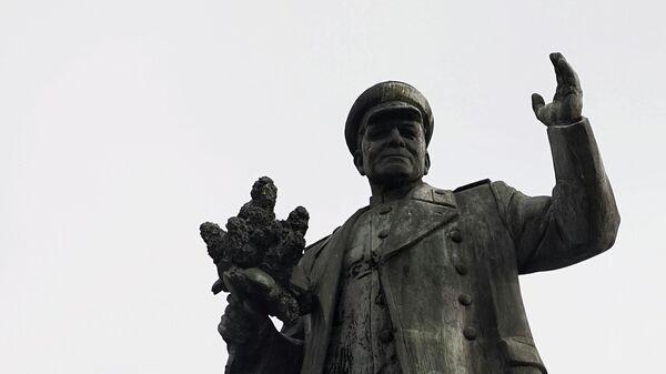 Socha marsála Koněva v Praze - Sputnik Česká republika