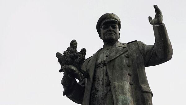 Socha marsála Koněva - Sputnik Česká republika