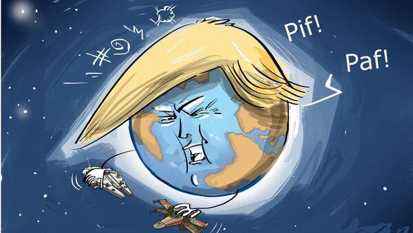 Trump má v úmyslu bojovat i ve vesmíru - Sputnik Česká republika