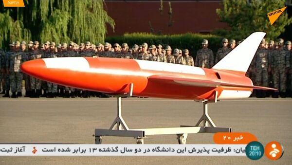 Teherán představil vysoce přesný dron Kian - Sputnik Česká republika