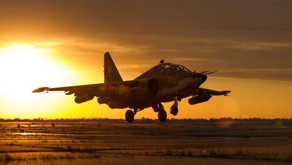 Letoun Su-25SM3. Ilustrační foto - Sputnik Česká republika