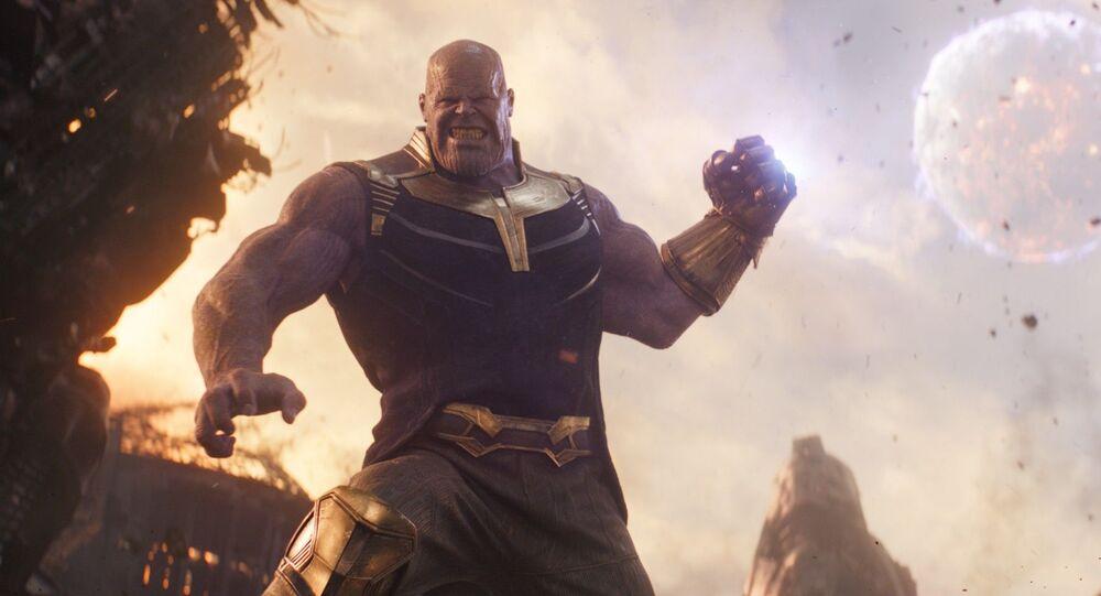 Záběr z filmu Avengers: Infinity War