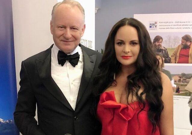 Česká herečka Jitka Čvančarová