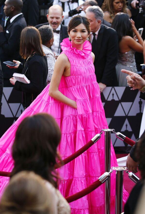Herečka Gemma Chan během Oscaru v Los Angeles - Sputnik Česká republika