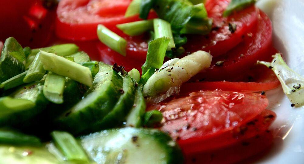 Zeleninový salát. Ilustrační foto