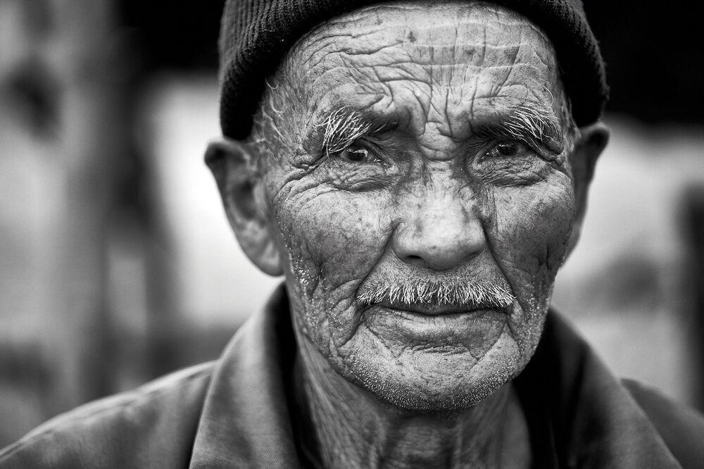 90letý Kyrgyz