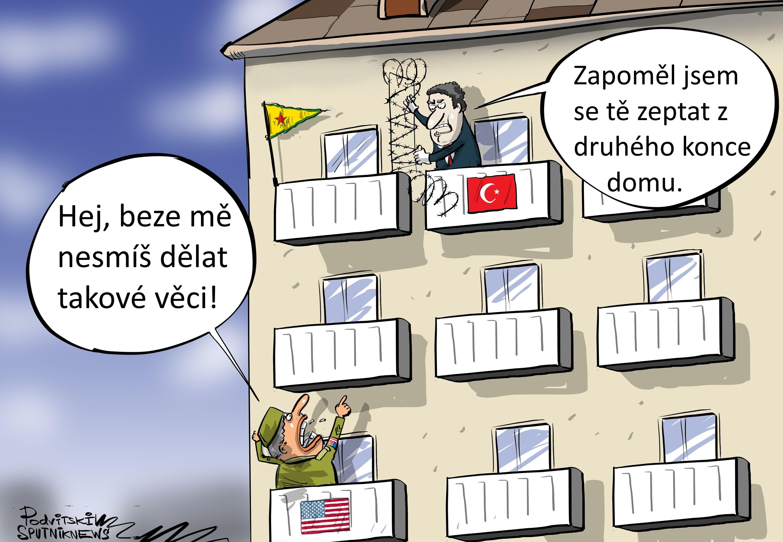 Zóna tureckého hospodářství v Sýrii bez USA?