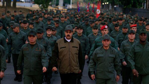Venezuelský prezident Niclás Maduro - Sputnik Česká republika